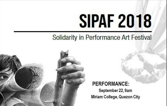 SIPAF Solidarity in Performance Art Festival 2018 featured Nguyen Quoc Thanh