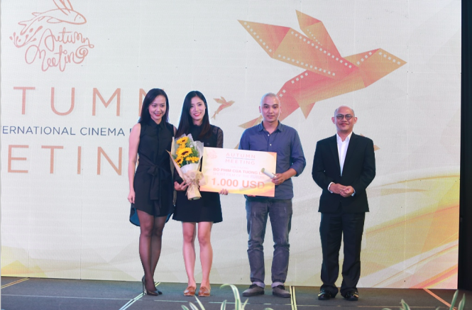 Ta Minh Duc wins award at Autumn Meeting