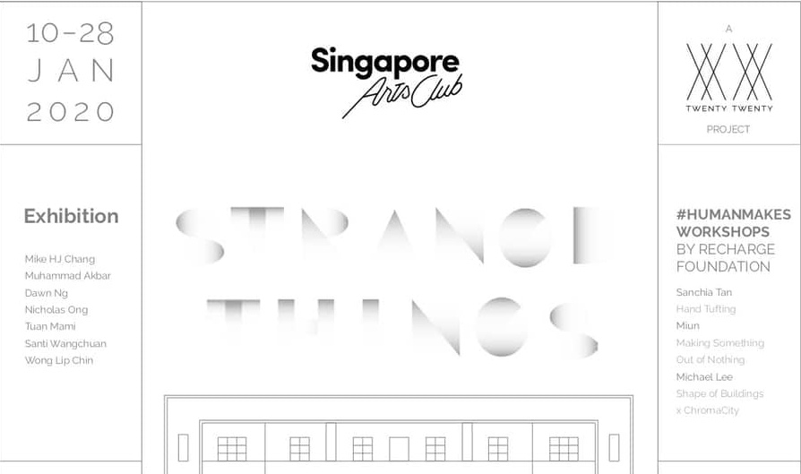 """Tuan Mami at """"Strange Things"""", Singapore Art Week 2020"""