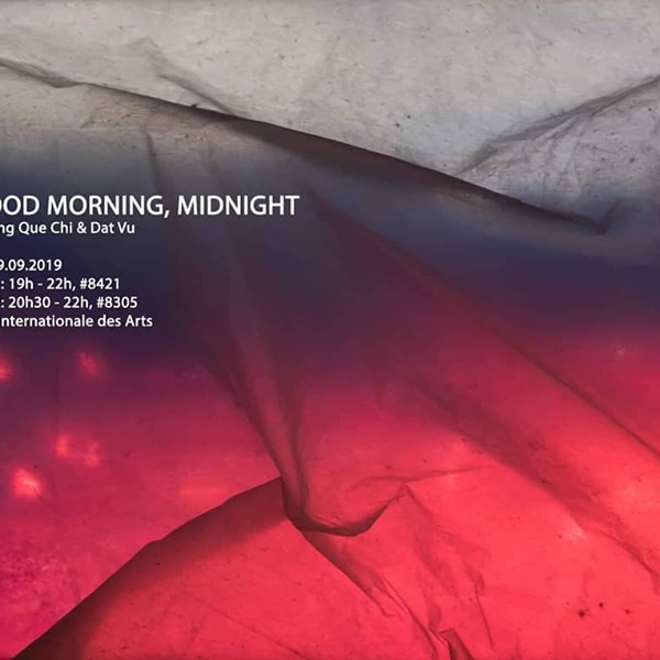 Good Morning, Midnight by Truong Que Chi at Cité Internationale Des Arts